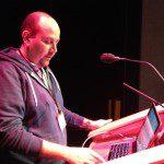 Dave Bhella practicing his Wildy talk.